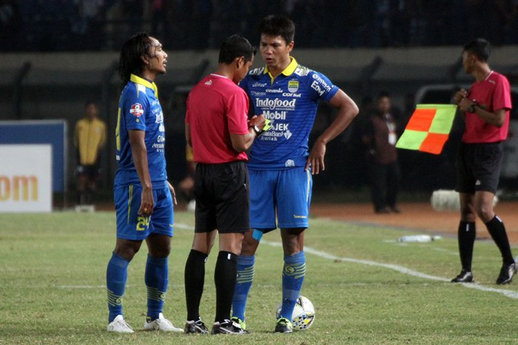 Mantan bek Persib Bandung, Achmad Jufriyanto.
