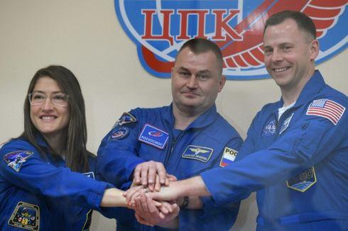 Tidak Kapok, 3 Astronot Kembali Menuju ISS dengan Roket Soyuz
