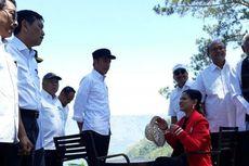 Jokowi dan Iriana Nikmati