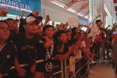 Juara Liga 1 Indonesia, Bali United Disambut Suporter di Bandara