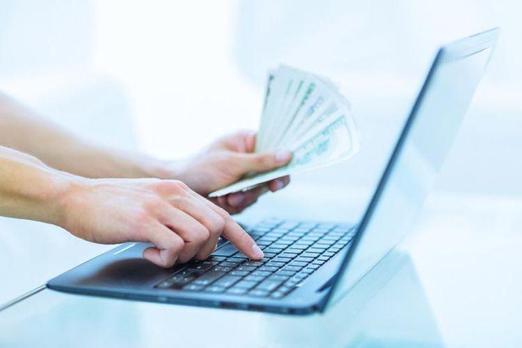 Ilustrasi fintech nakal atau pinjaman online nakal.