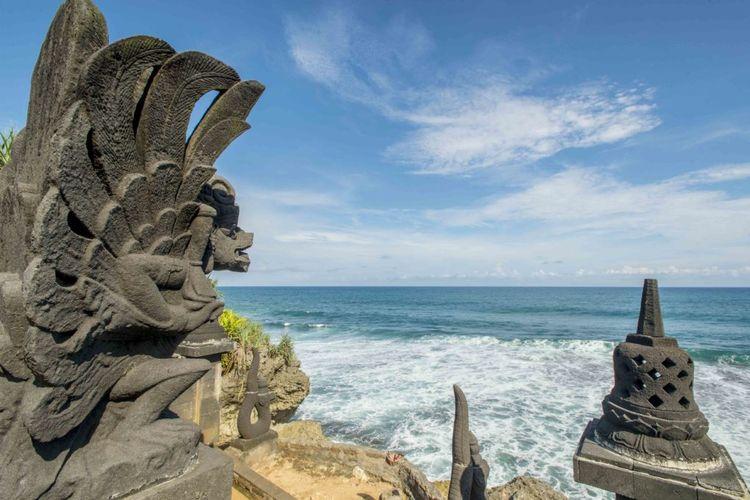 Pantai Ngobaran, Gunungkidul, Yogyakarta.