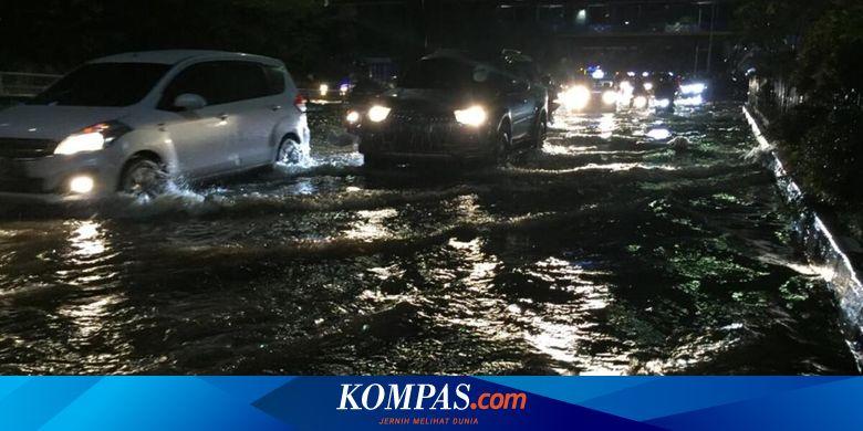 Daftar 32 Ruas Jalan di Jakarta yang Masih Terenda