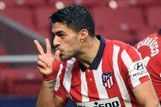 Atletico Vs Real Madrid, Waktu Terbaik Luis Suarez Akhiri Puasa Gol