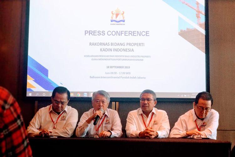 Rakornas Bidang Properti Kadin Indonesia, Rabu (18/9/2019)