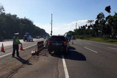 """Tol Cikampek Padat, Jalur """"Contraflow"""" ke Arah Jakarta Diperpanjang"""
