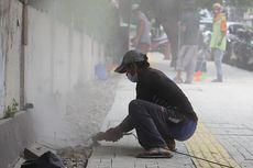 Penataan Trotoar di Tebet Akan Selesai Bulan Depan, Warga Diingatkan Tak Jadikan Tempat Parkir