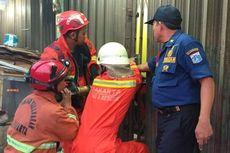 Terkunci Dalam Ruko 4 Jam, Tiga Pria Dievakuasi Pemadam Kebakaran