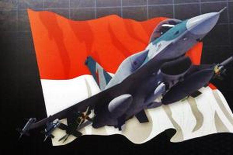 F-16V Viper yang ditawarkan Lockheed Martin kepada pemerintah Indonesia.