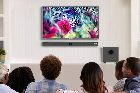 Inilah Jarak Aman Menonton TV Agar Tak Rusak Mata