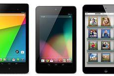 Perbandingan Nexus 7, Nexus 7 2, dan iPad Mini