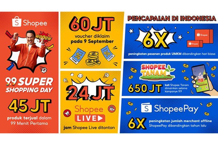 Infografis: Shopee catat pesanan produk UMKM naik 6 kali lipat saat 9.9 Super Shopping Day