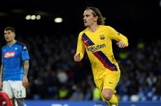 Napoli Vs Barcelona, Griezmann Samai Perolehan Gol Suarez dan Higuain