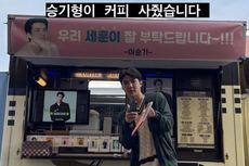 Sehun EXO Pamer Hadiah Truk Kopi dari Lee Seung Gi