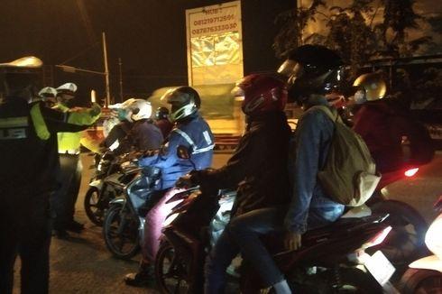 Cerita Pemudik Motor Pasrah Diputar Balik di Karawang,