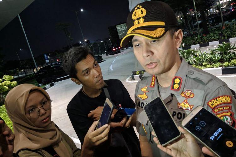 Kapolres Kota Bandara Soekarno-Hatta, AKBP Adi Ferdian Saputra saat ditemui di Gedung Otoritas Bandara Soekarno-Hatta, Rabu (11/12/2019)