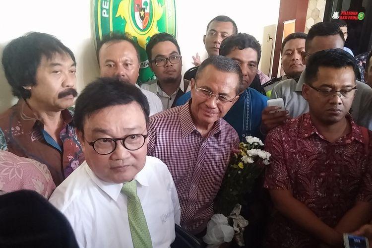 Dahlan Iskan sempat bercanda usai sidang vonis di Pengadilan Tipikor