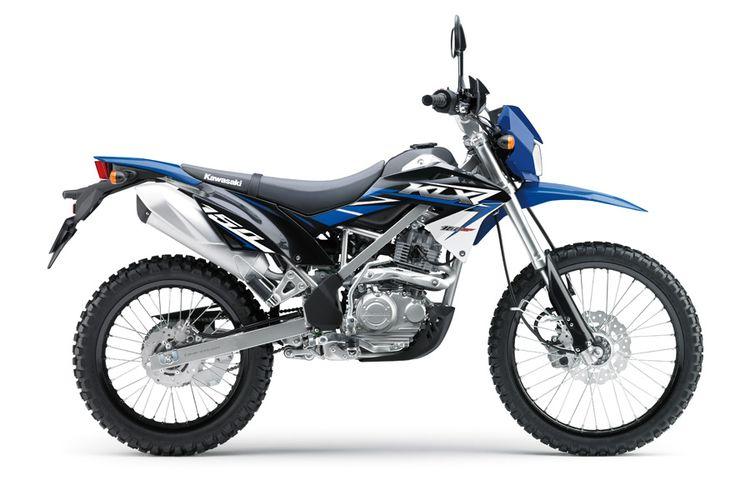 Kawasaki KLX 150 BF warna baru.