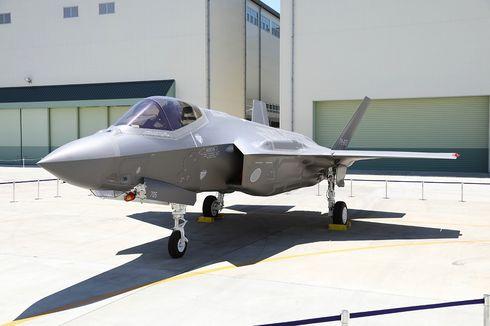 Jepang Hentikan Pencarian Bangkai F-35 yang Jatuh di Samudra Pasifik