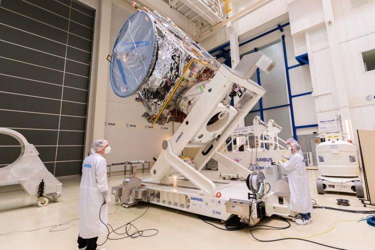 Pesawat Esa, Jupiter Icy Moon Explorer, dijadwalkan diluncurkan dari Bumi tahun depan.