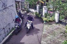 Kurang dari Dua Menit, Satu Motor di Pasar Minggu Raib Digondol Maling