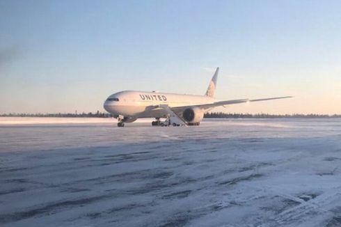 Penumpang Terjebak 14 Jam dalam Pesawat saat Cuaca Dingin di Kanada