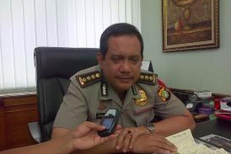 Kepala Bidang Humas Polda Metro Jaya, Komisaris Besar Pol Rikwanto