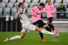 Juventus Vs Barcelona, Lepasnya Kutukan Messi di Kandang Lawan