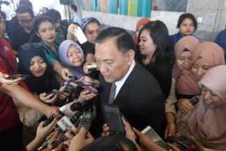 Gubernur Bank Indonesia Agus Martowardojo, Senin (8/8/2016)