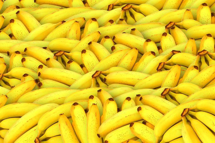Ilustrasi pisang.