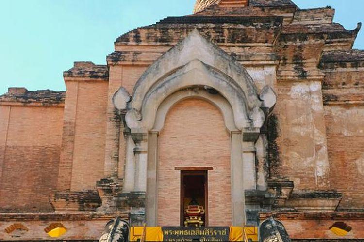 Kuil Wat Chedi Luang di Chiang Mai, Thailand.