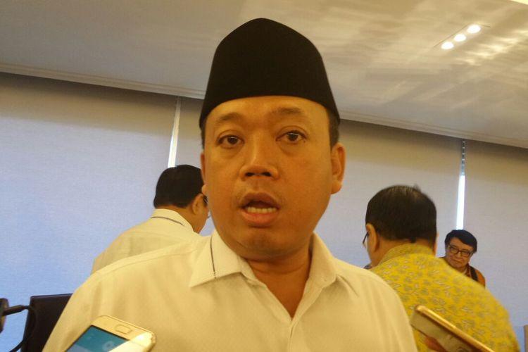 Kepala Badan Nasional Penempatan dan Perlindungan Tenaga Kerja Indonesia (BNP2TKI), Nusron Wahid di Kompleks Parlemen, Senayan, Jakarta, Selasa (28/2/2017).