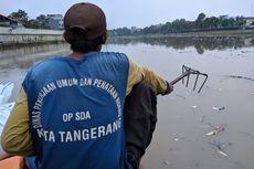 3 Jam Mengapung di Sungai Cisadane, Mengais Sampah hingga Cerita Legenda Buaya Putih