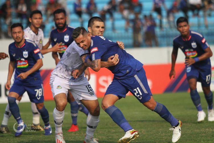 Laga PSIS Semarang vs Tira Persikabo dihelat di Stadion Moch. Soebroto, Jumat (2/8/2019).