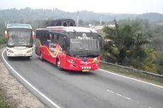 Istilah Ngeblong, Momen Saat Bus Salip Kendaraan Lain