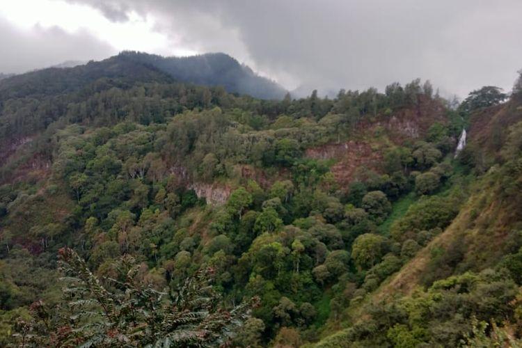 Salah satu pemandangan yang bisa dinikmati dari WPPS, Mojokerto.