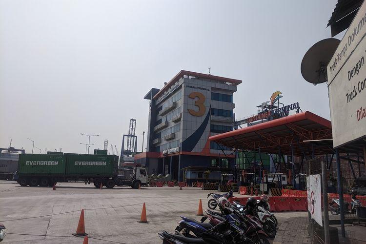 Terminal 3 Pelabuhan Tanjung Priok, Jakarta Utara, Selasa (15/10/2019)