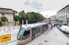Telan Dana Rp 5,8 Triliun, Trem di Dublin Lebih Lambat dari Jalan Kaki