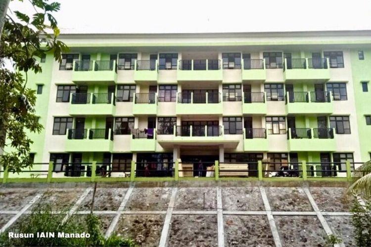 Rusun Institut Agama Islam Negeri (IAIN) Manado di Provinsi Sulawesi Utara.