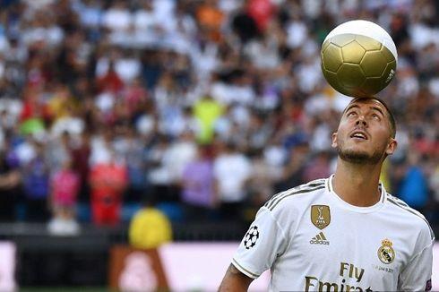 Hazard Buat Real Madrid Kebobolan saat Lawan Tottenham