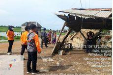 Angin Kencang Landa Ogan Ilir, Puluhan Pohon Tumbang, 10 Rumah dan 1 Gedung PAUD Rusak