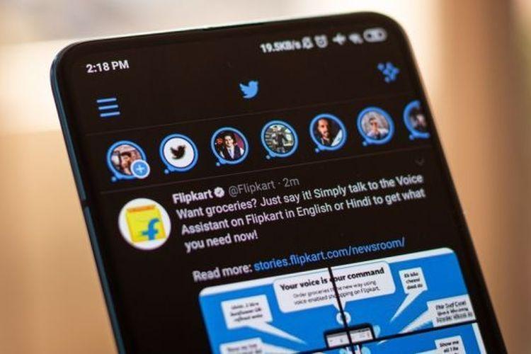 Ilustrasi Twitter Fleets