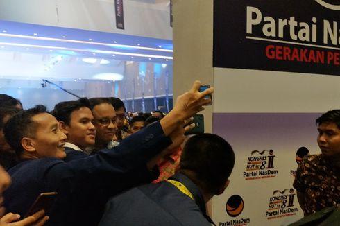 Anies Diserbu Kader Nasdem untuk Selfie