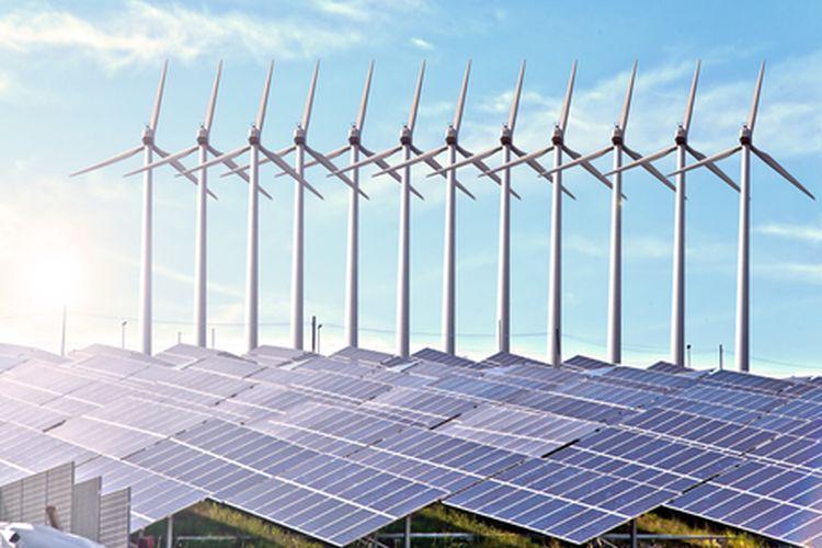 Sumber energi terbarukan: Panel Surya dan Energi Angin