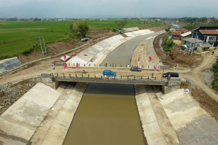 Sudetan (Floodway) Cisangkuy Bandung Jawa Barat