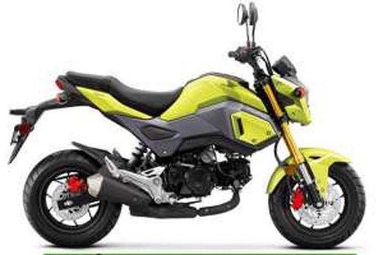Motor Mini Honda Punya Tampang Baru