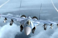 Jet Tempur Rusia Sukhoi Su-35 Cegat Pesawat AS di Laut Mediterania