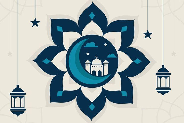 Ilustrasi tahun baru Islam (Hijriyah).