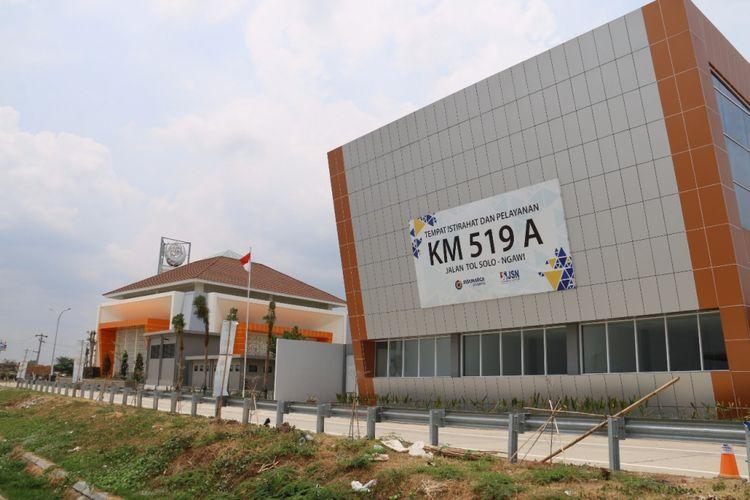 Rest area di KM 519 A Tol Solo-Ngawi.