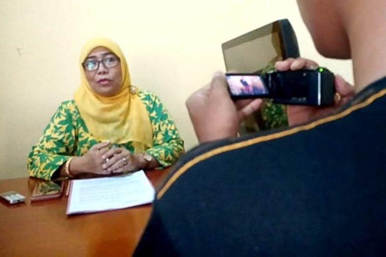 Ketua Harian P2TP2A Cianjur Lidya Indayani Umar